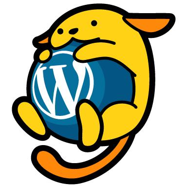 ja.wordpress.org の公式キャラクター「わぷー (Wapuu)」